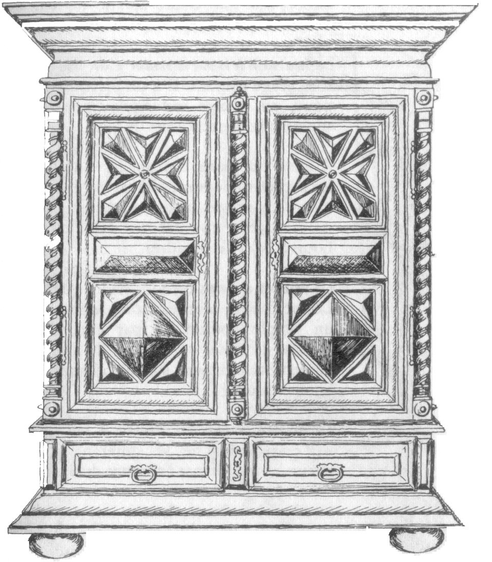 style louis xiii armoire. Black Bedroom Furniture Sets. Home Design Ideas