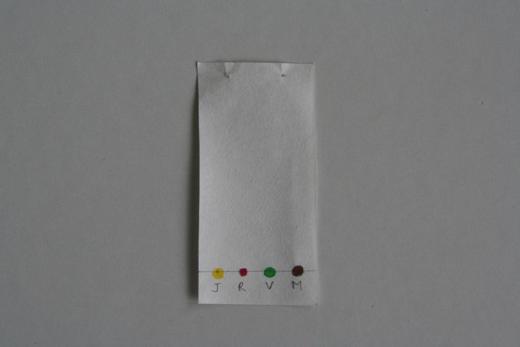chaque tache dun chromatogramme correspond une seule espce chimique - Tache Colorant Alimentaire